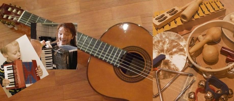 Musikalische Früherziehung bei Tagesmutter Barbara Barthel in Bochum Wattenscheid